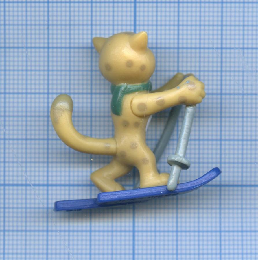 Фигурка «Талисман Олимпийсих игр Сочи-2014 - Леопард (лыжи)»