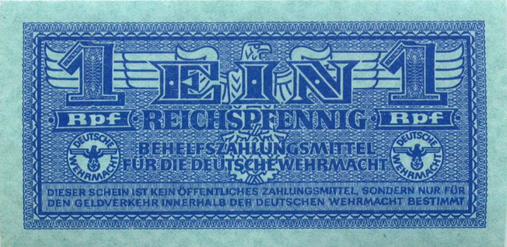 1 рейхспфенниг (Германия (Третий рейх))