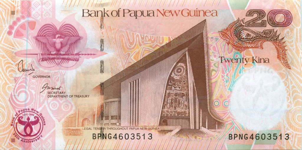 20 кина (Папуа-Новая Гвинея)