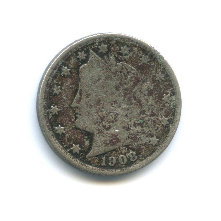 5 центов 1908 года (США)