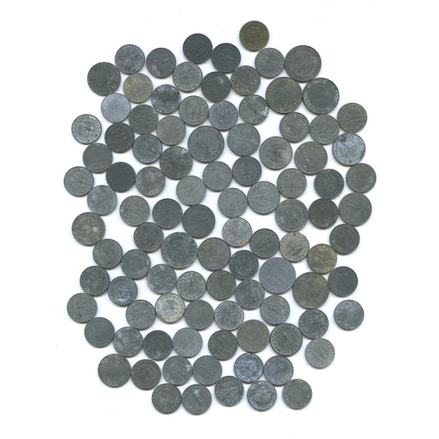 Набор монет (100 шт.) (Германия (Третий рейх))