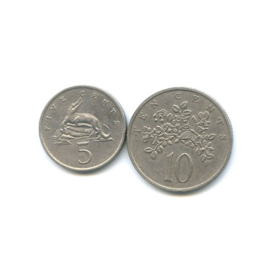 Набор монет 1972 года (Ямайка)