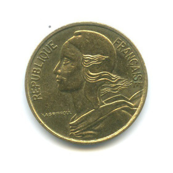 5 сантимов 1997 года (Франция)