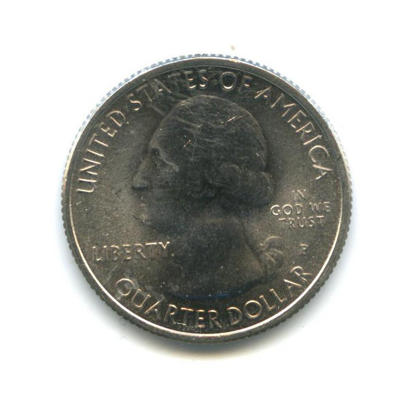 25 центов (квотер) — Национальный парк Виксбург 2011 года P (США)