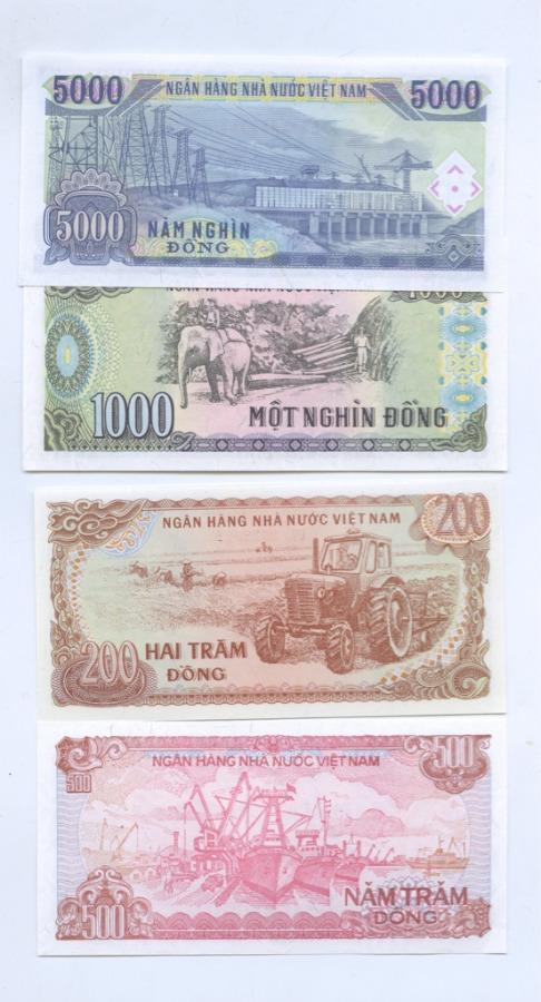 Набор банкнот (Вьетнам)