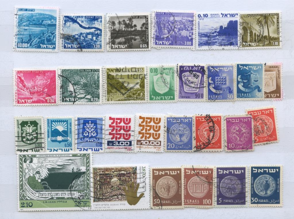 Набор почтовых марок (Израиль)
