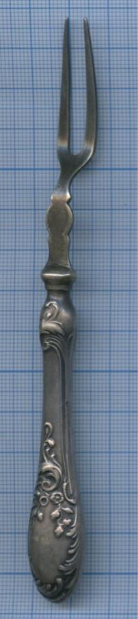 Вилка (клеймо «Br. HENNEBERG BM», до1917 г.)