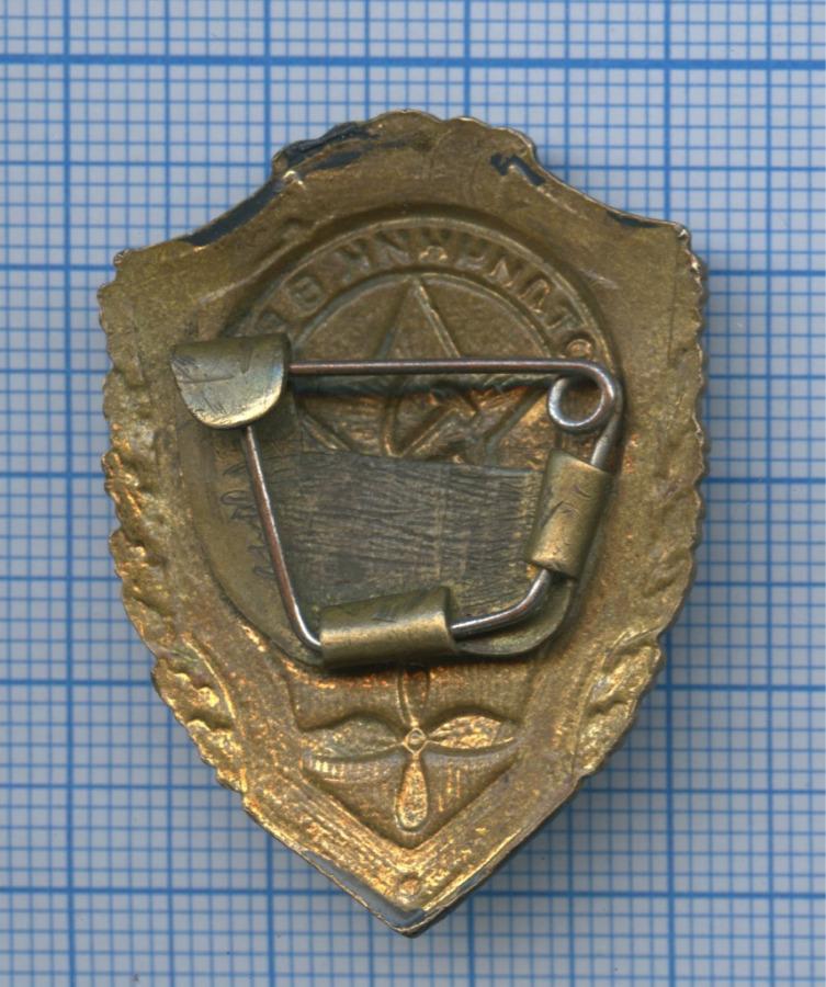 Знак нагрудный «Отличник ВВС» (эмаль, латунь, тяжелый) (СССР)