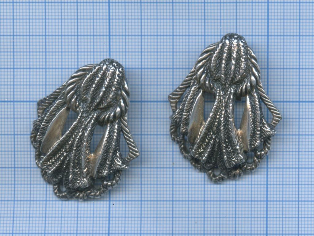 Серьги, серебро (925 проба)