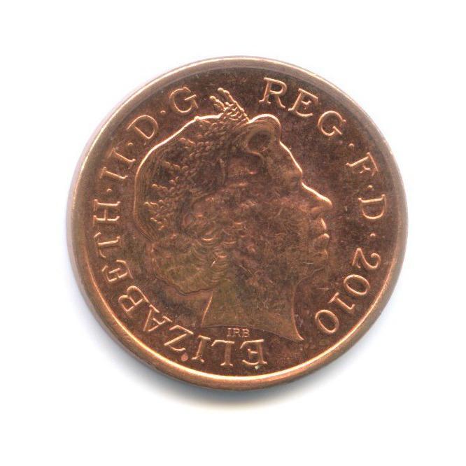 1 пенни 2010 года (Великобритания)