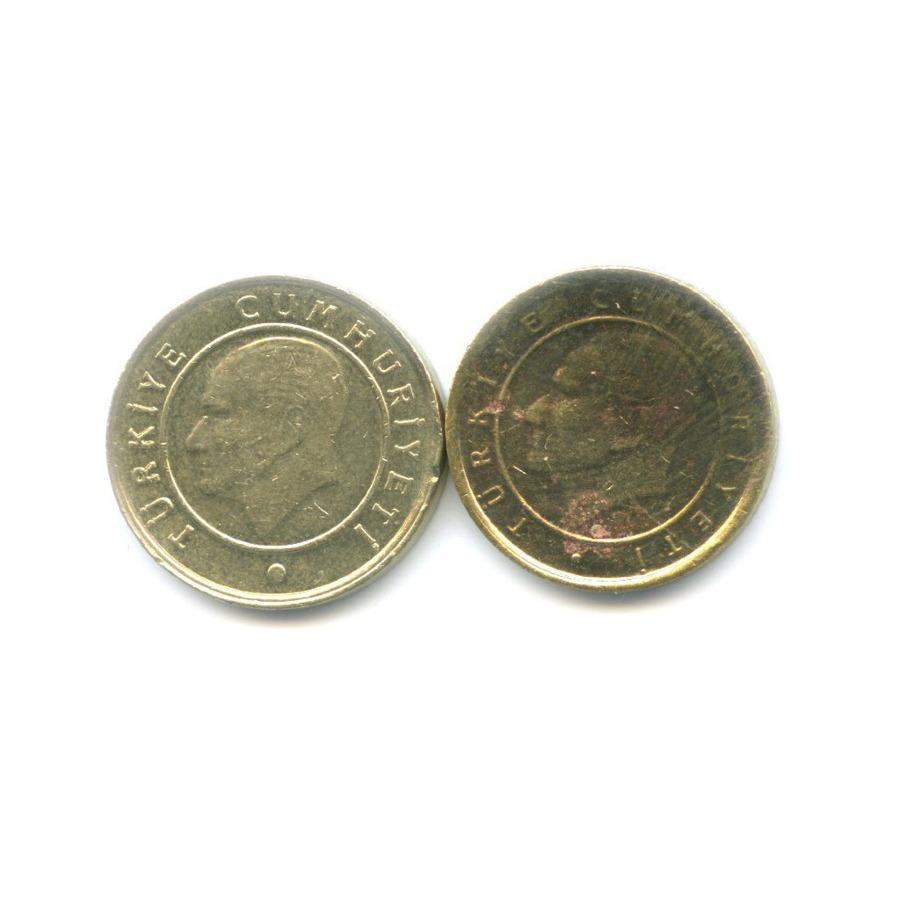 Набор монет 2005, 2009 (Турция)