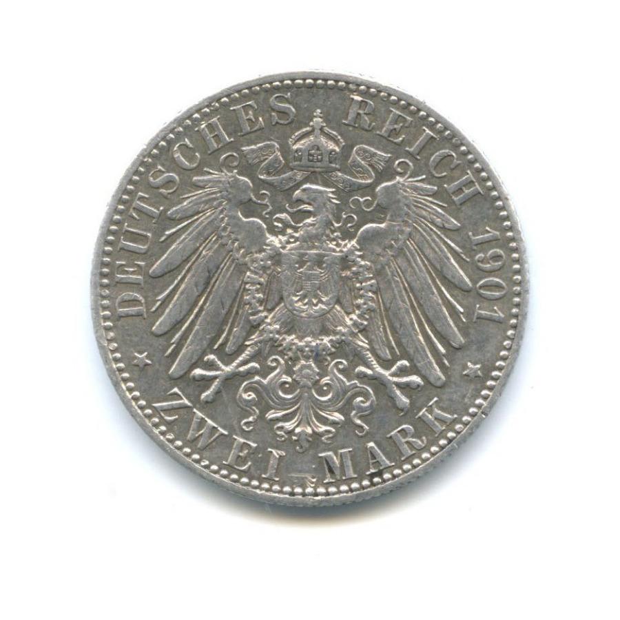 2 марки - 200-летие Пруссии: отФридриха IдоВильгельма II (Пруссия) 1901 года