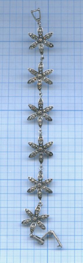 Браслет, серебро (925 проба)