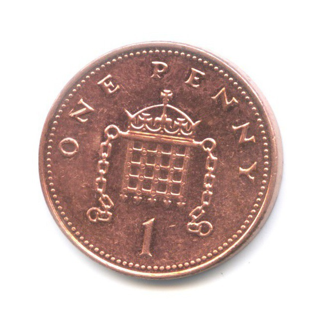 1 пенни 2003 года (Великобритания)