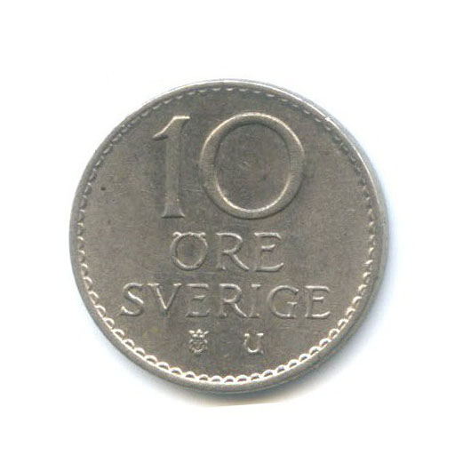 10 эре 1962 года (Швеция)