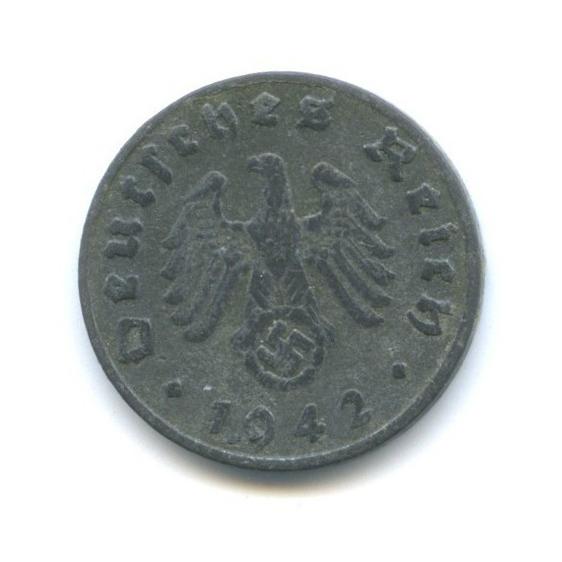 1 рейхспфенниг 1942 года E (Германия (Третий рейх))