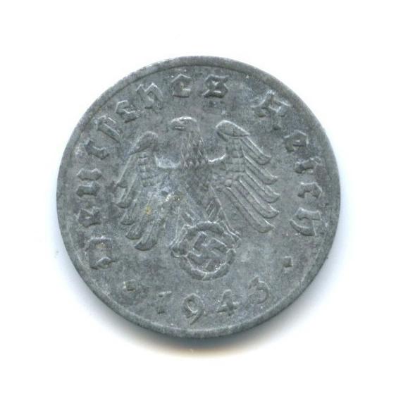 1 рейхспфенниг 1943 года F (Германия (Третий рейх))