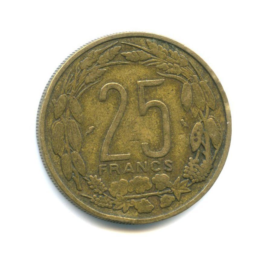 25 франков, Камерун 1962 года
