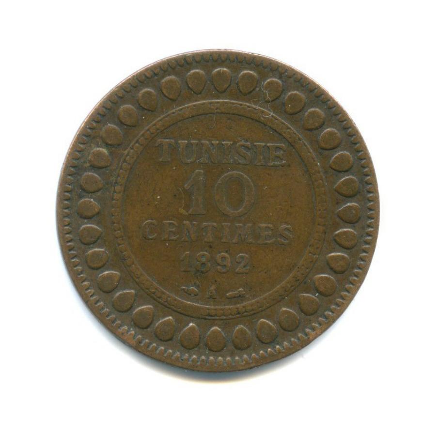 10 сантимов 1892 года (Тунис)