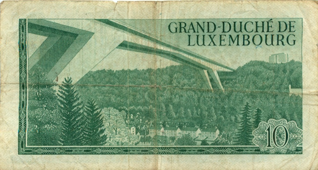 10 франков 1967 года (Люксембург)