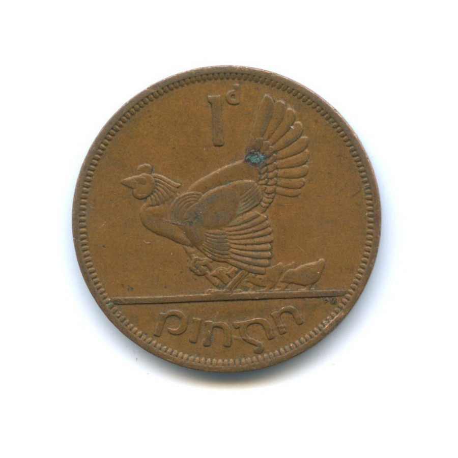 1 пенни 1963 года (Ирландия)