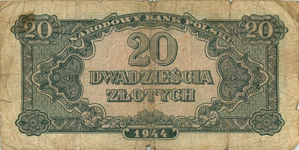 20 злотых 1944 года (Польша)