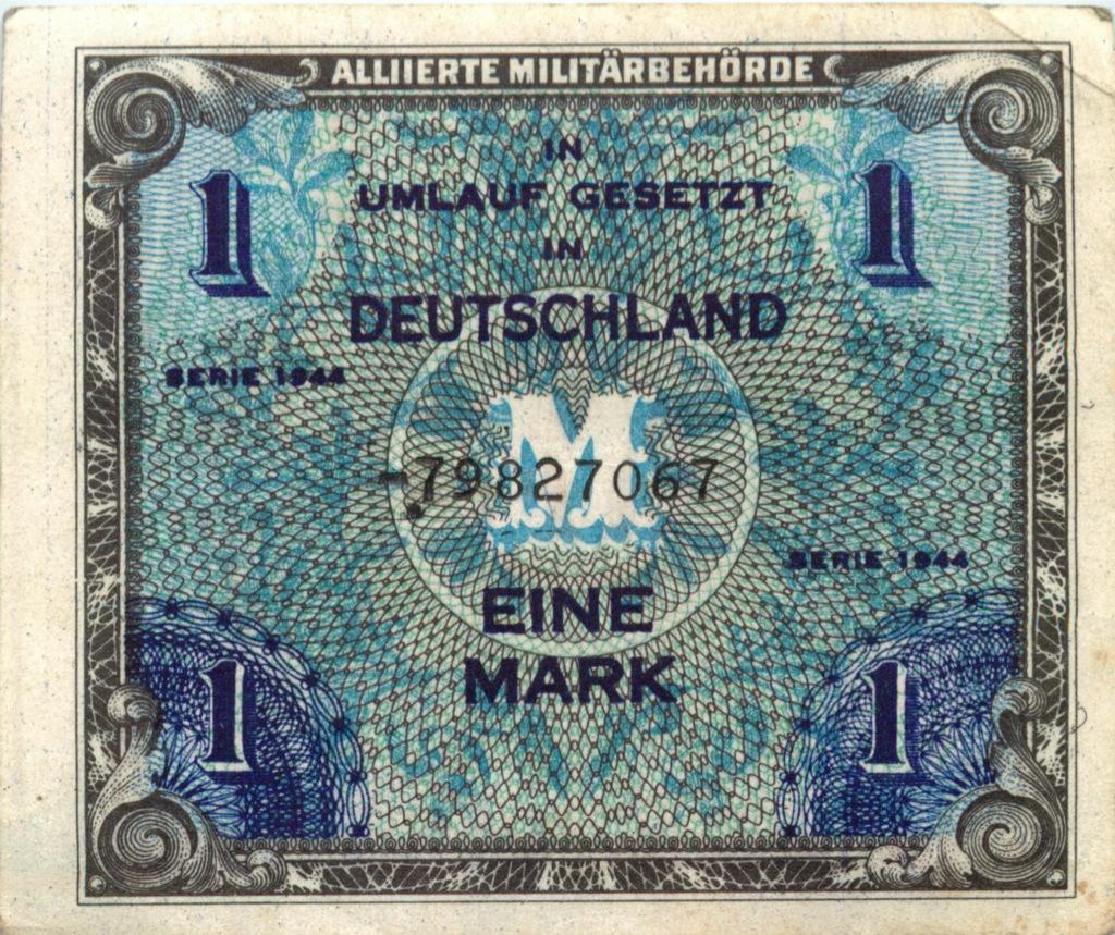 1 марка 1944 года (Германия (Третий рейх))