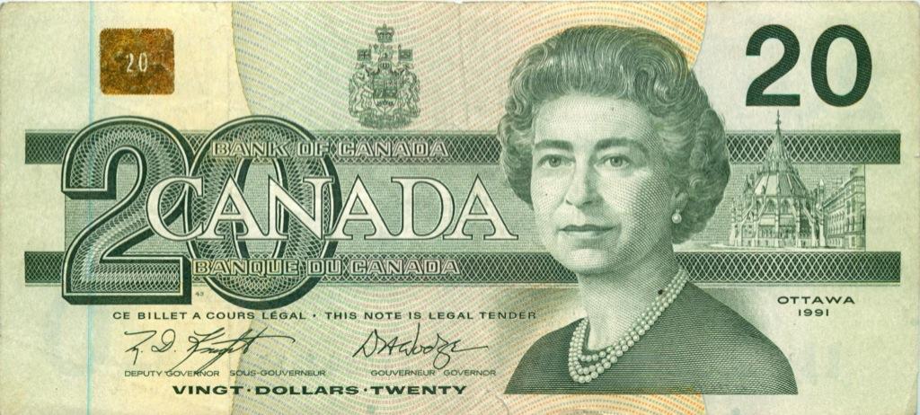 20 долларов 1991 года (Канада)