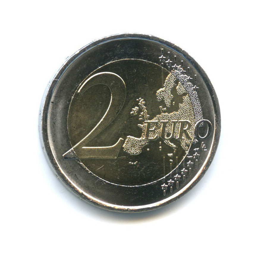 2 евро - 30 лет флагу Европы 2015 года (Испания)