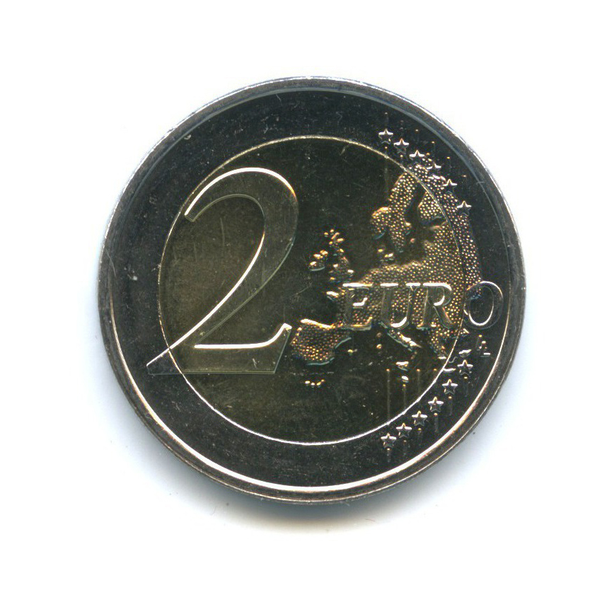2 евро - 125-летие династии Нассау-Вейльбург 2015 года (Люксембург)