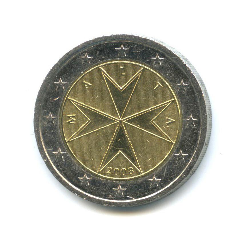 2 евро 2008 года (Мальта)