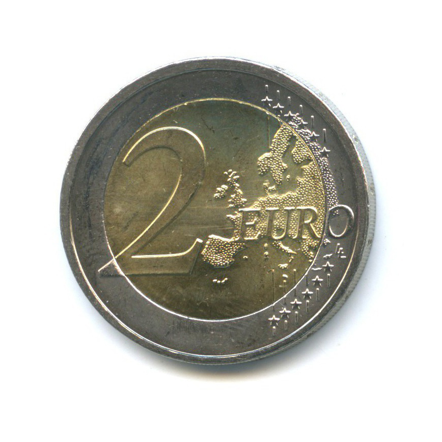 2 евро - 175 лет независимости Люксембурга 2014 года (Люксембург)