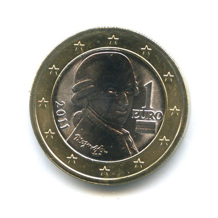 1 евро 2011 года (Австрия)