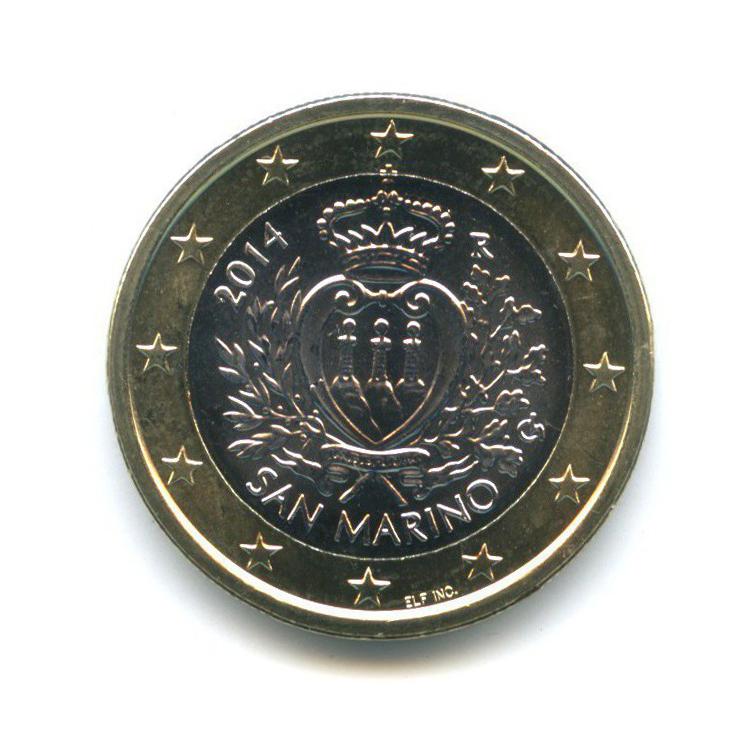 1 евро 2014 года (Сан-Марино)