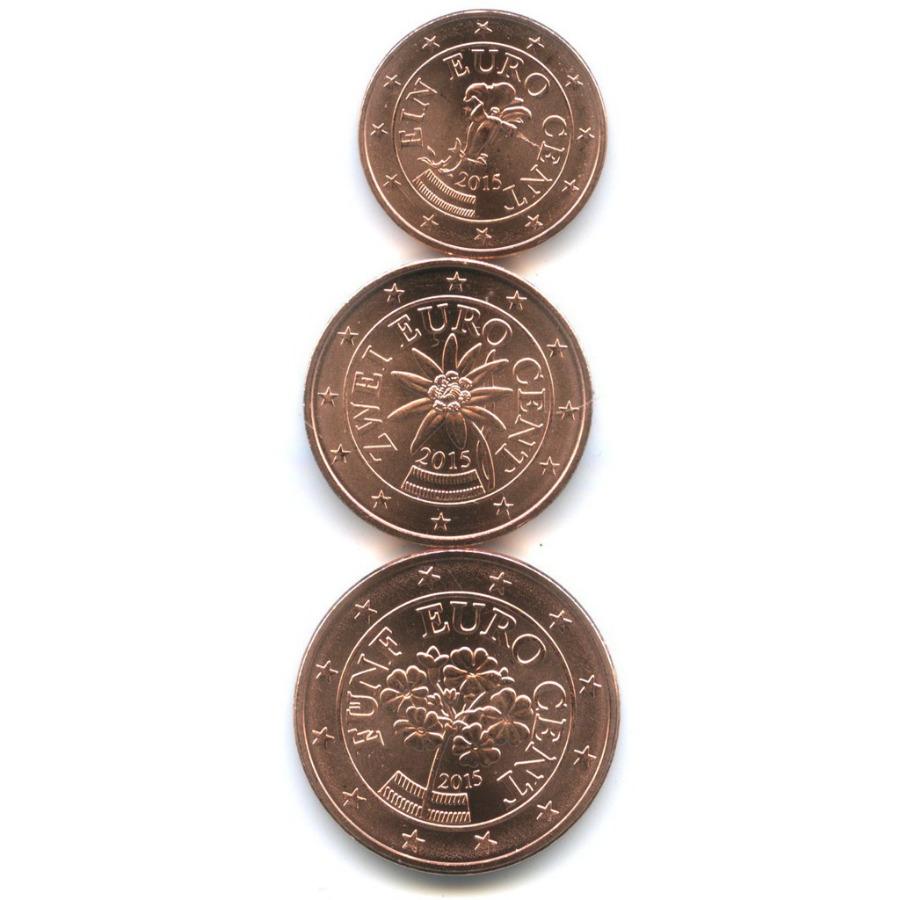 Набор монет 2015 года (Австрия)