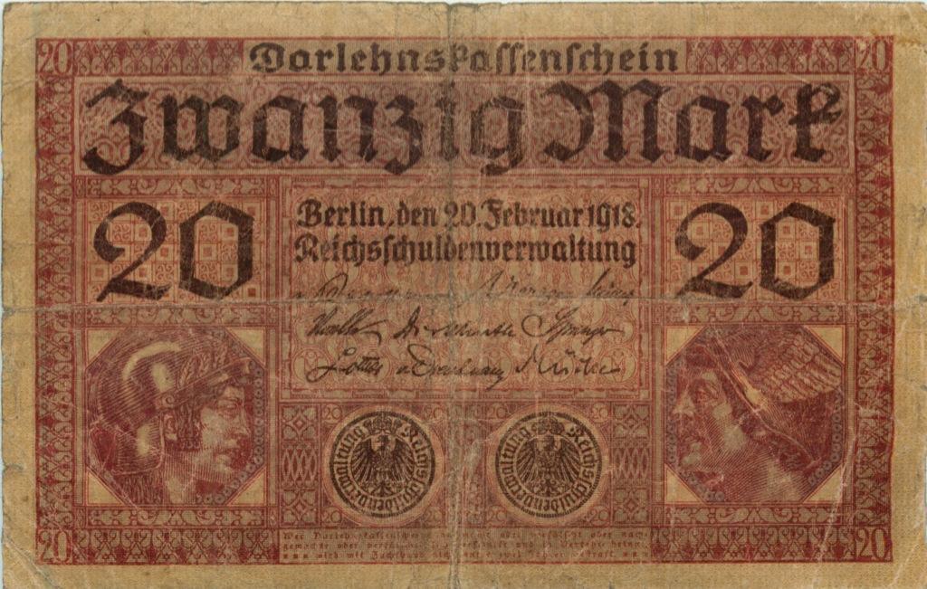 20 марок 1918 года (Германия)