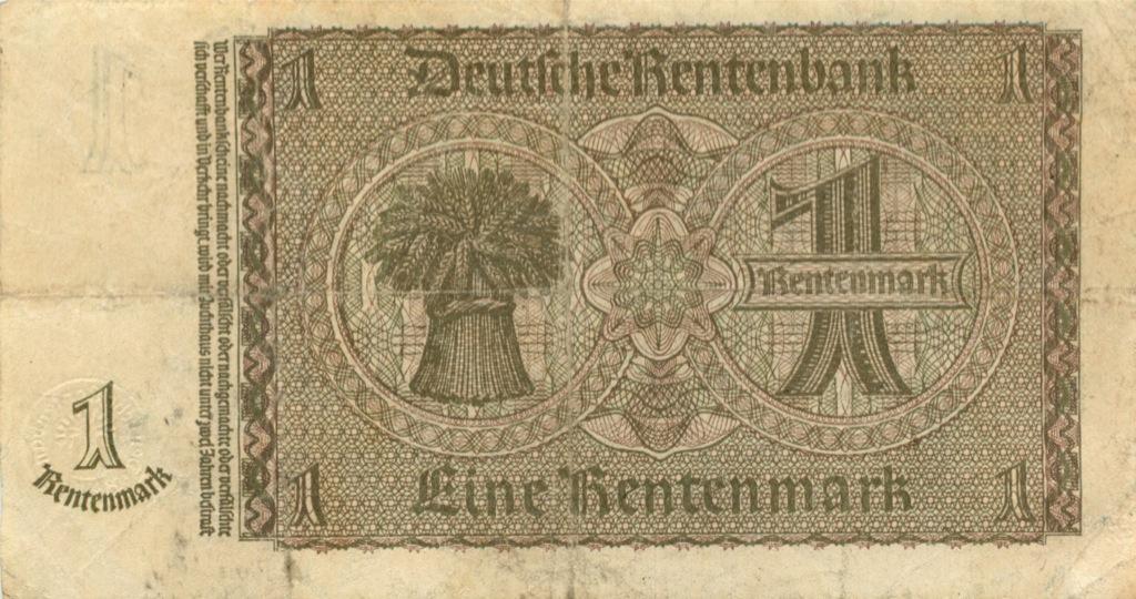 1 рентенмарка 1937 года (Германия (Третий рейх))