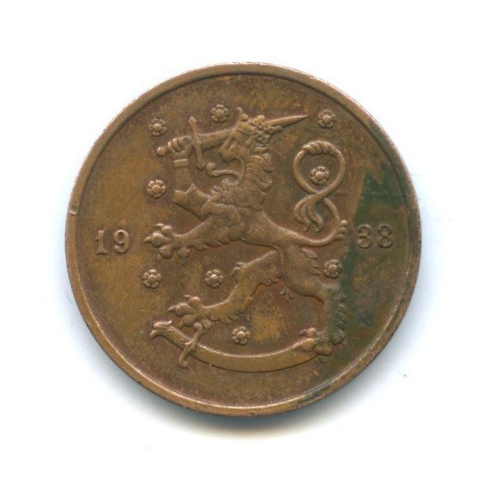 10 пенни 1938 года (Финляндия)