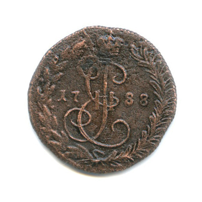 Денга (1/2 копейки) 1788 года КМ (Российская Империя)