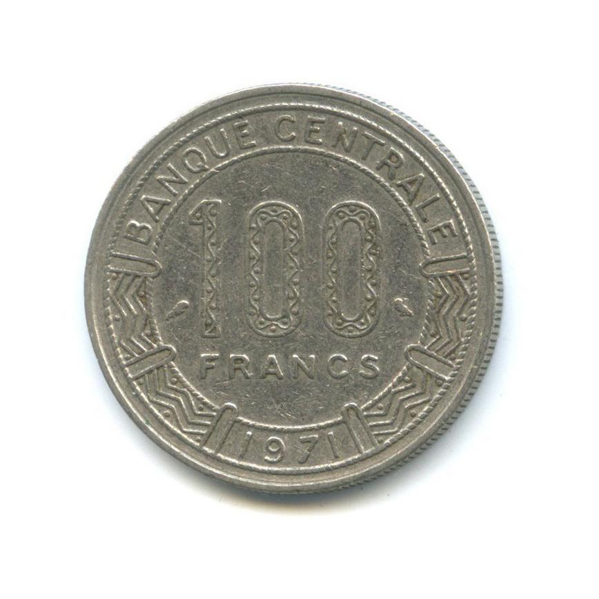 100 франков, Камерун 1971 года