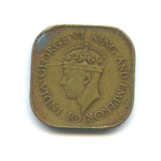 5 центов, Цейлон 1943 года