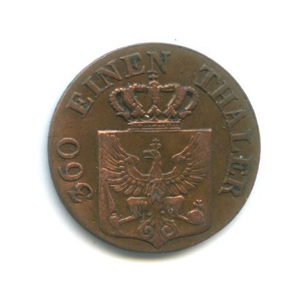 1 пфеннинг, Пруссия 1842 года А