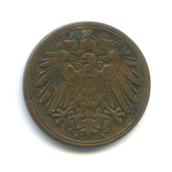 1 пфенниг 1909 года А (Германия)