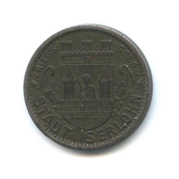 10 пфеннигов, Изерлон (нотгельд) 1918 года (Германия)