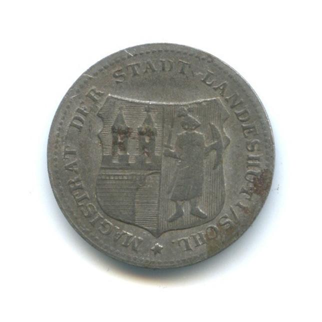 5 пфеннигов, Ландсхут (нотгельд) 1917-1920 (Германия)