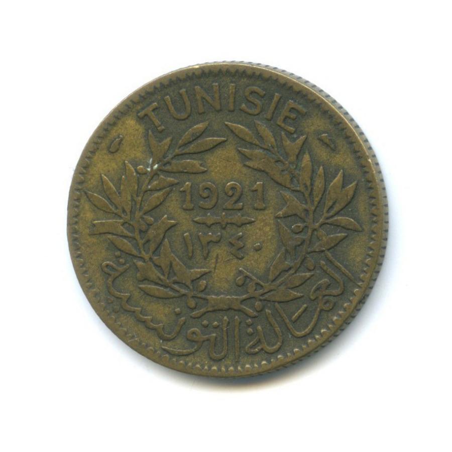 2 франка 1921 года (Тунис)