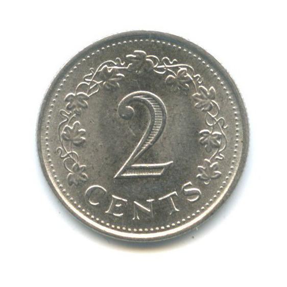 2 цента 1977 года (Мальта)