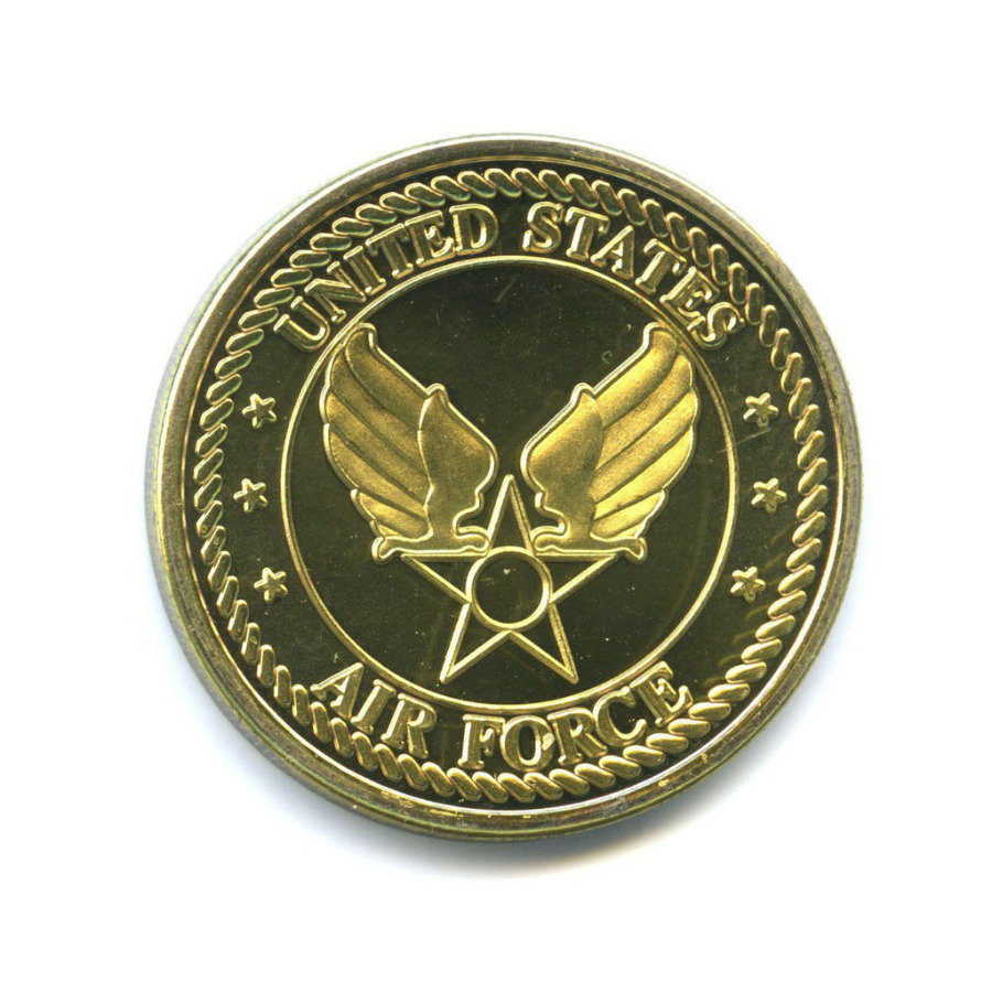 Жетон «FB-111A - USAF» (вцвете, под золото)