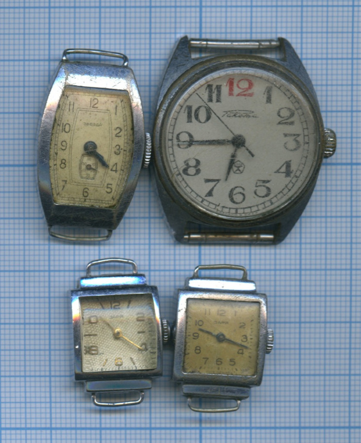 Набор наручный часов (без ремешков) (СССР)
