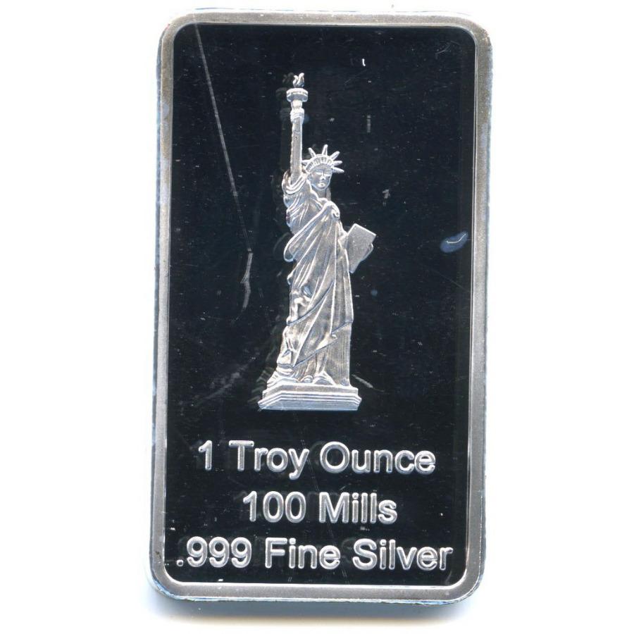 Жетон-слиток «Статуя свободы» (под серебро)